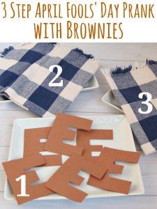 Brownie April Fools Prank