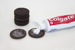 Oreo and toothpaste prank